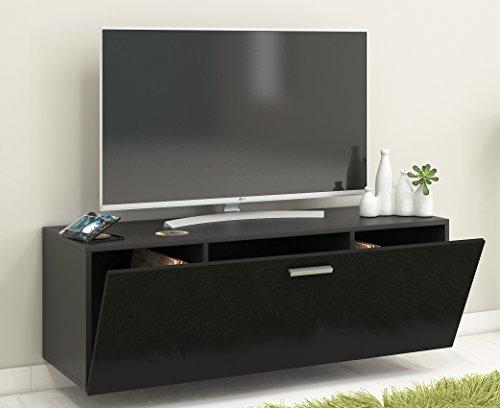 vcm fernso 115 meuble tv fernso 115 poli fin table tv meuble tv design table basse meuble support tv lowboard bois