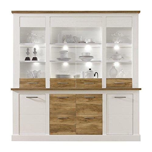maisonnerie ensemble meuble style campagnard toronto pin decor lxhxp blanc