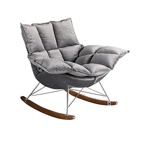 encounter g fauteuil a bascule en tissu chaise longue pour la maison chaise de balcon creative chaise paresseuse pour salon chambre ou bureau relax