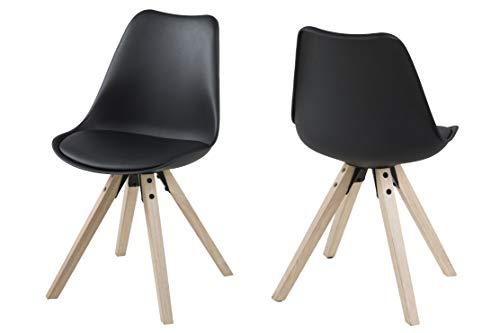 marque amazon movian arendsee lot de 2 chaises de salle a manger 55 x 55 x 85 cm longueur x largeur x hauteur