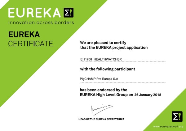 eureka_certificate HEALTHWATCHER