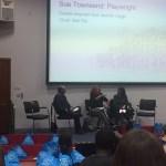 Carole Hayman, Janette Legge and Bali Rai