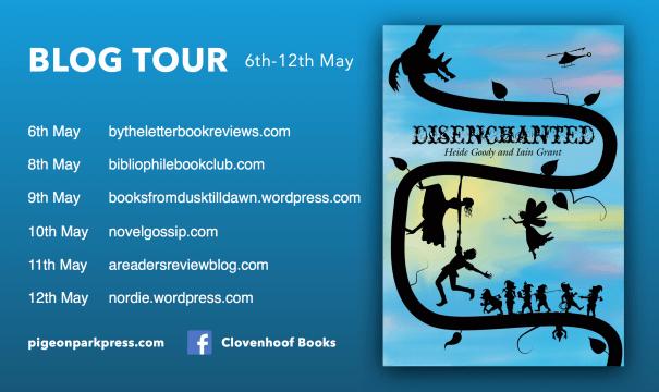Disenchanted blog Tour Banner