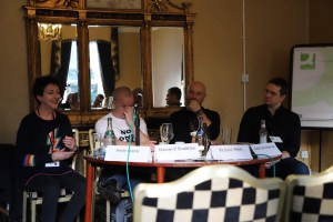 Fantasycon panel: Heide Goody, Duncan Bradshaw, Richard Webb, Justin Anderson