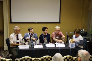 Fantasycon panel: Iain Grant, Steve McHugh, Heide Goody, Ritchie Valentine Smith, Rachel McLean