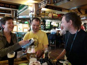 Heide Goody, Simon Goody and Thomas Arnfelt
