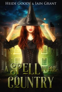 book cover for A Spell in the Country