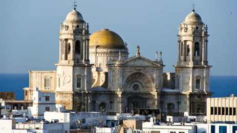 Cadiz Cathedral in Spain is facing a pigeon infestation.