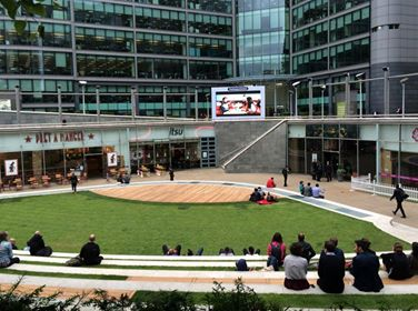 Brilliant place to watch the World Cup if you happen to be in Paddington