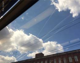 3 trails go into the cloud, 2 come out...who ate the 3rd plane?