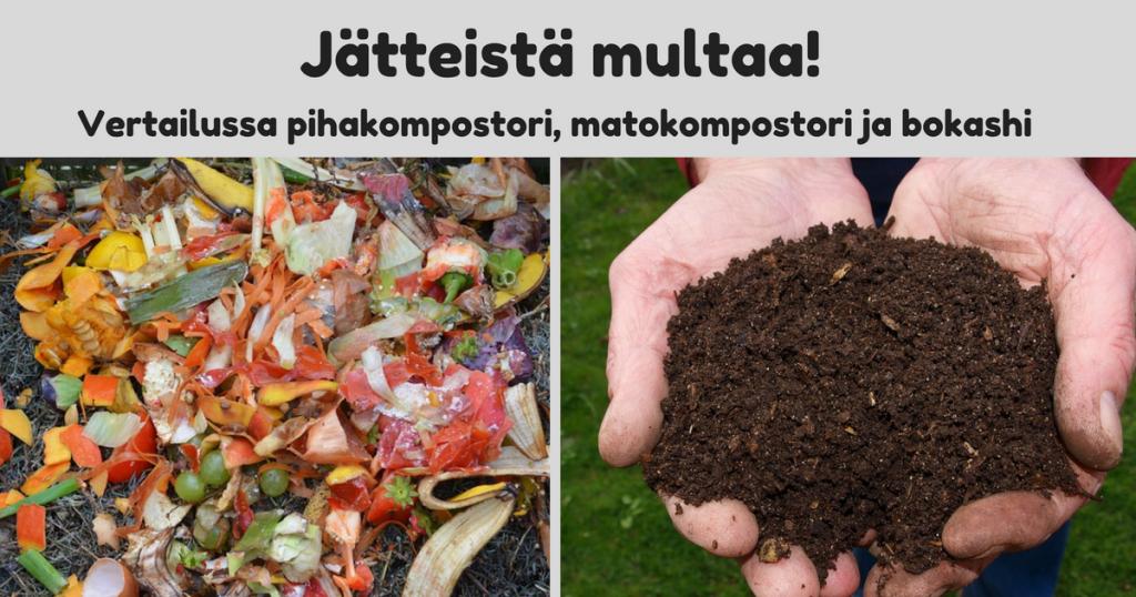 Biojätteiden kompostointitavat vertailussa – mikä sopii sinulle parhaiten?