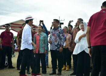 Presiden Jokowi resmikan PLTB Sidrap