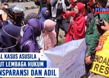 Mahasiswa Demo Tuntut Transparansi Kasus Asusila Anak