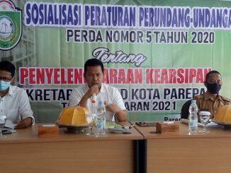 Anggota Komisi I DPRD Parepare Yusuf Lapanna Sosialisasikan Perda Penyelenggaraan Kearsipan