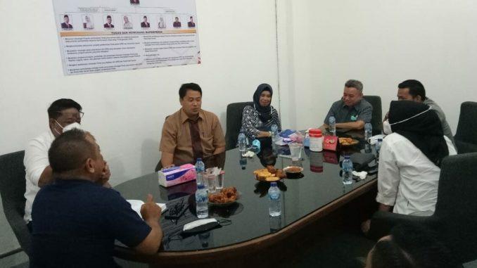 Bapemperda DPRD Parepare Terima Kunjungan KPU, Diskusi Wacana Pemekaran Dapil