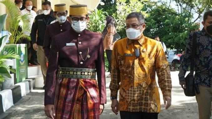 Wali Kota Parepare Dapat Undangan Dampingi Menparekraf Sandiaga Uno, Bakal Jalin Kerja Sama Kepariwisataan