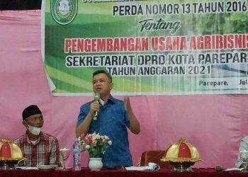 Ketua Bapemperda DPRD Parepare Yasser Latief Ajak Warga Geliatkan Usaha Dibidang Agribisnsi