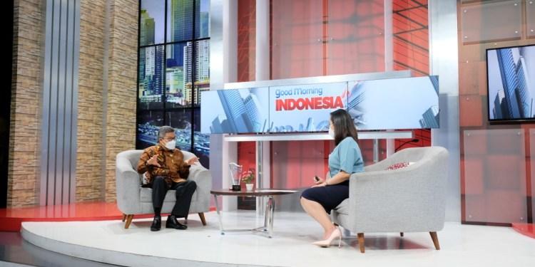 Tampil Good Morning Indonesia, Wali Kota Parepare Taufan Pawe Jelaskan Konsep Bangun Daerah Dengan Cinta