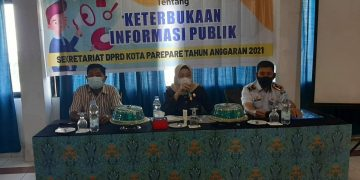 Anggota Komisi I DPRD Parepare, Indriasari Husni Ulas Tujuan Perda Keterbukaan Informasi Publik