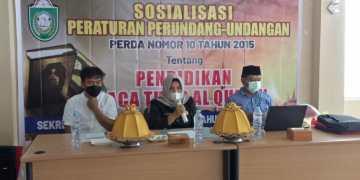 Anggota Komisi II DPRD Parepare Hariani Sosialisasikan Perda Pendidikan Baca Tulis Al-quran