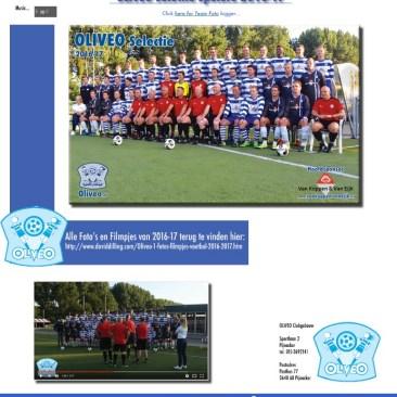 OLIVEO selectie spelers 2016-17 Fotos