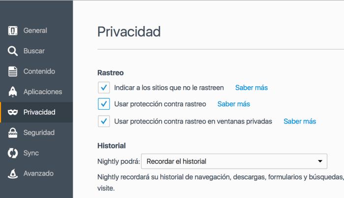 uBlock Origin - Activar protección contra rastreo