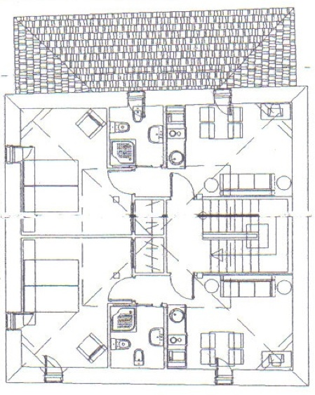 plano segunda planta pikatza enea
