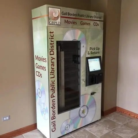 automated dvd dispensing