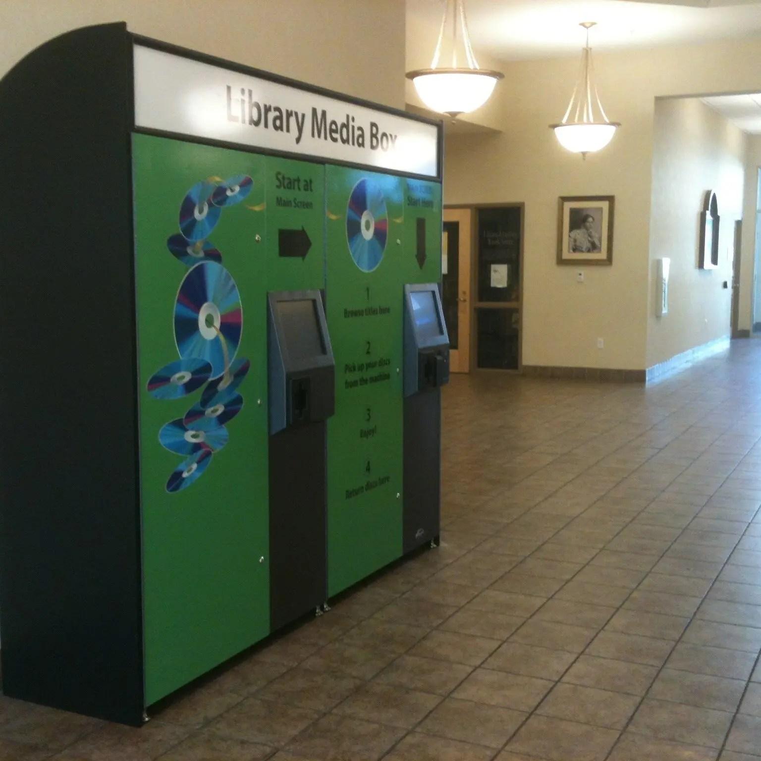 dvd lending machine