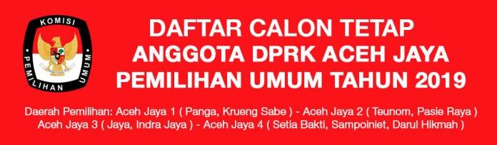 Ads Daftar Caleg Tetap Aceh Jaya 2019