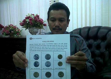 uang logam 1970
