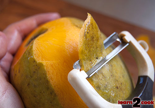Peel the Mango