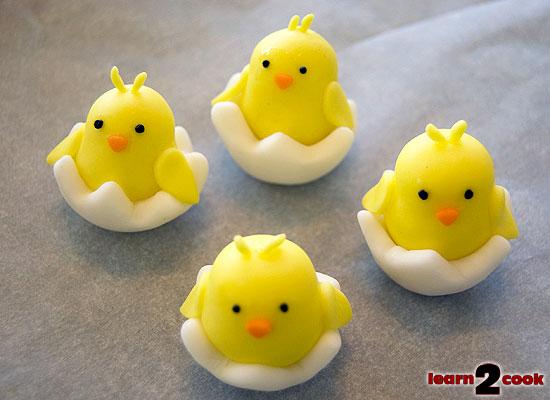 Fondant Easter Figures - Chick
