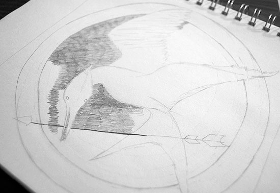 Mockingjay Sketch