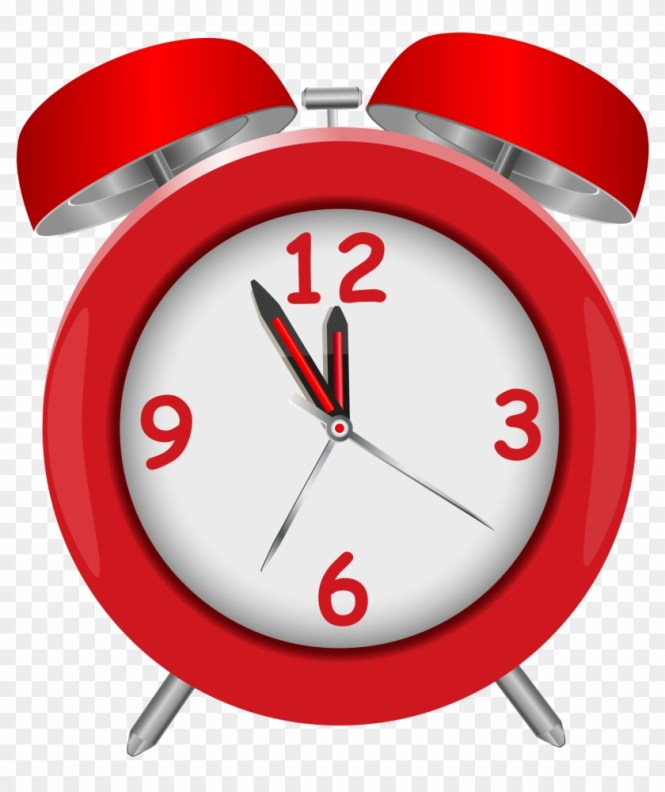 Red Alarm Clock Png Clipart 107763