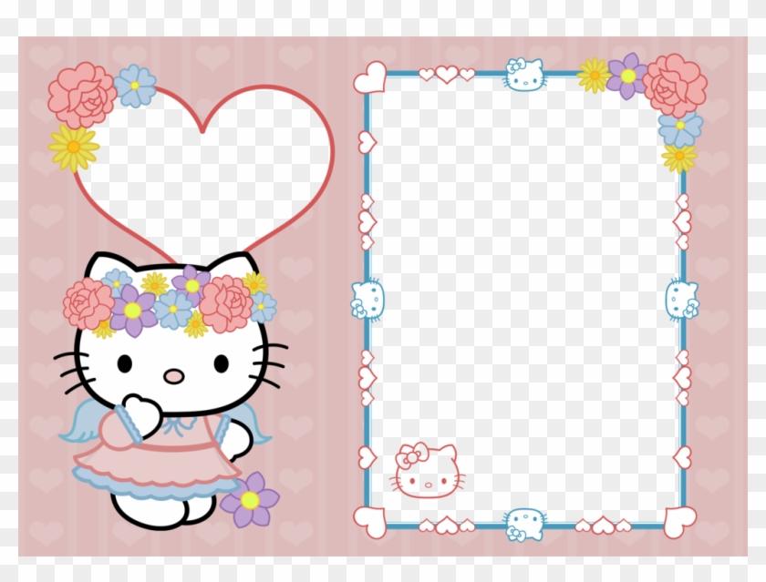 hello kitty birthday frame png hello
