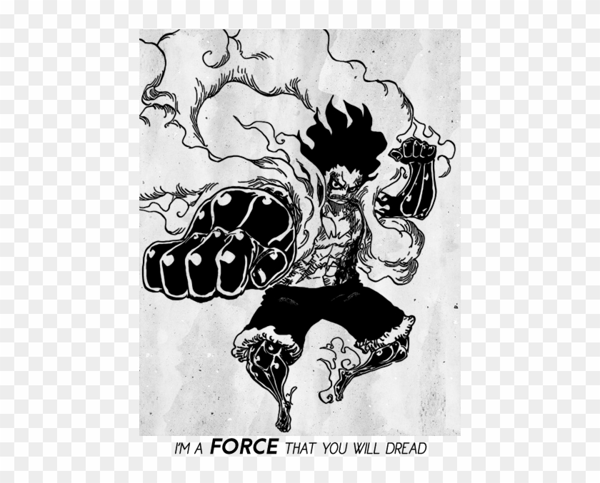 Luffy's voice also gets rough and a little deeper. I Don T Do This For The Riches I M One Piece Snake Man Manga Clipart 3534500 Pikpng