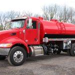 2500 gallon vacuum tank