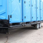 portable toilet trailer