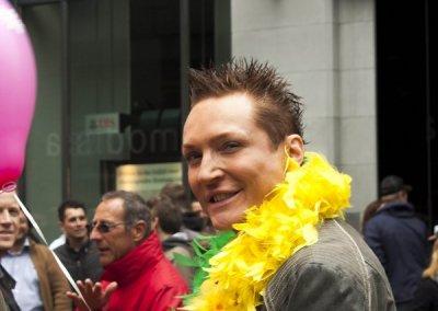 Zurich Bahnhofstrasse LGBT Parade