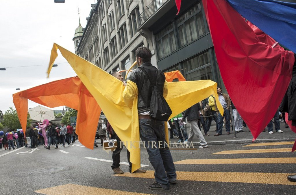 Zurich Diaries – II – The LGBT parade and memories of P