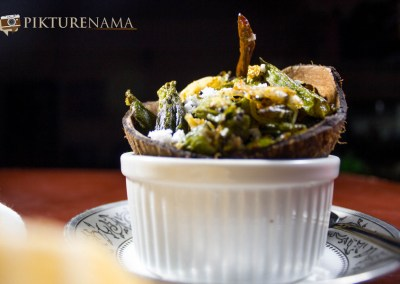 Aam Kasundi Bhindi or Okra in mango mustard sauce by Pikturenama 1