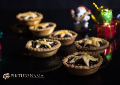 Mince Pie with Borosil OTG the pies are ready