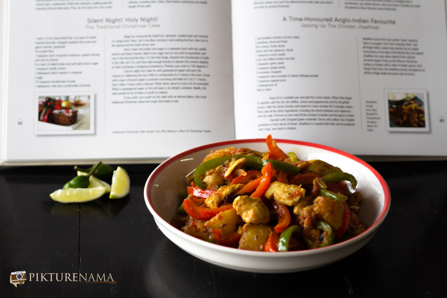 Cooking up Culinary adventures by Jayabrato Chatterjee with chicken Jhaalfrezi