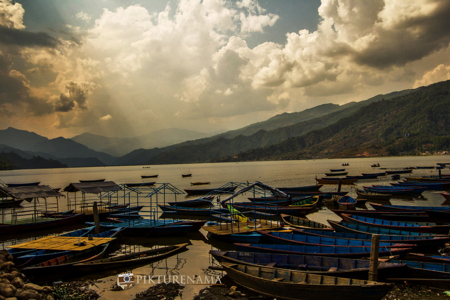 Phewa Lake Pokhara boat ride - 1