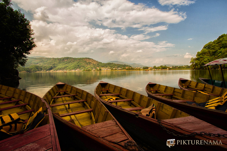 Phewa Lake Pokhara boat ride - G