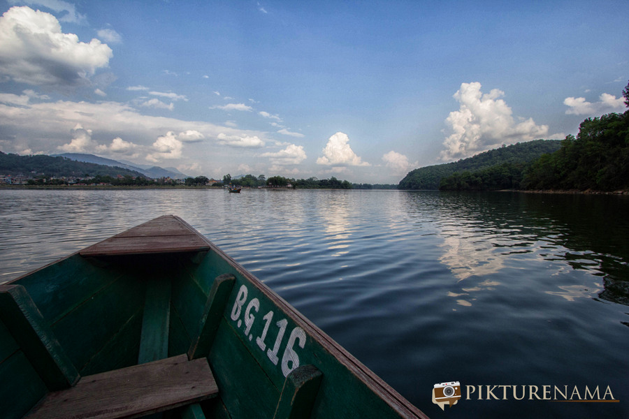 Phewa Lake Pokhara boat ride - E