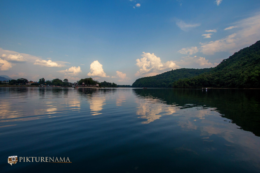 Phewa Lake Pokhara boat ride - C
