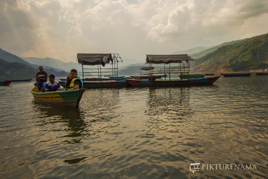 Phewa Lake Pokhara boat ride - 12