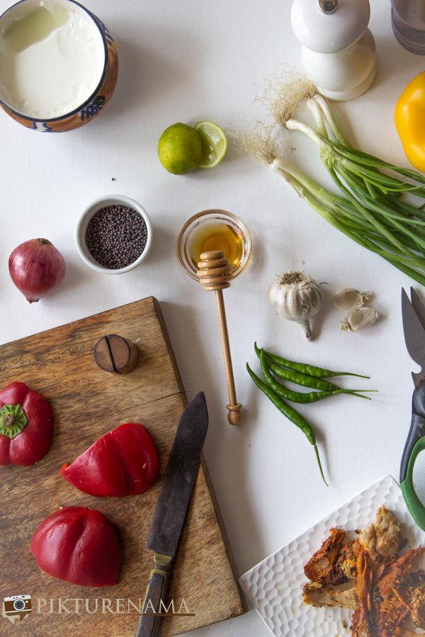 Chicken salad preparations 1